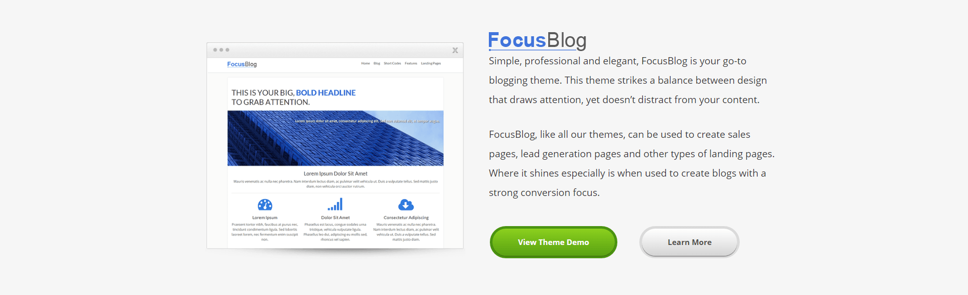 focus by thrive themes