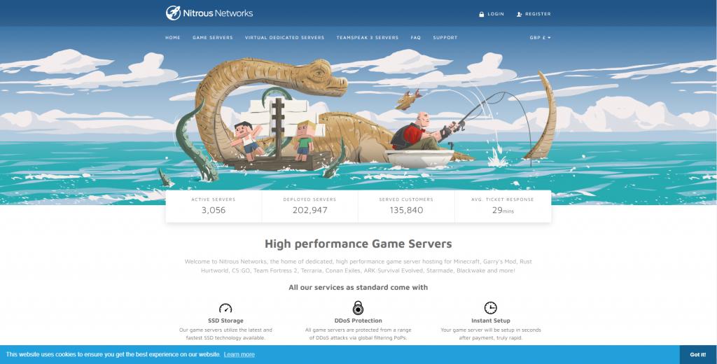 бесплатный хостинг для серверов tf2